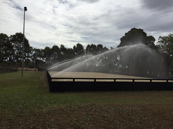 Horse Property Sprinkler System by WA Reticulation