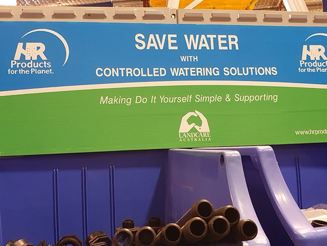 Water saving irrigation options at WA Reticulation Supplies